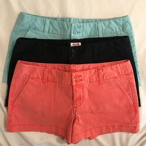 Set of 3 shorts from Target